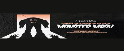 Libation Halloween Monster Mash party 2018