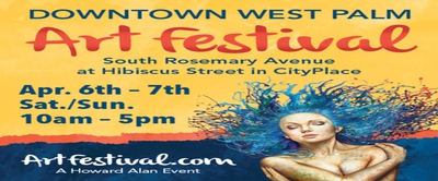 Downtown West Palm Beach Art Festival at CityPlace