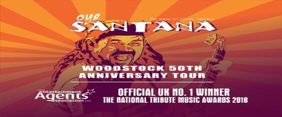 Oye Santana: Woodstock 50th Anniversary Tour Live at Half Mo